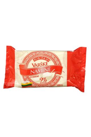 Varškė naminė ROKIŠKIO, 9% rieb., 180 g