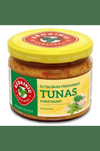 Tunas sumuštiniams su itališkais prieskoniais KĖDAINIŲ KONSERVAI, 280 g