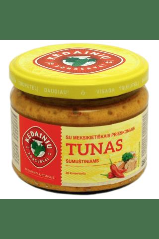 Tunas sumuštiniams su meksikietiškais prieskoniais KĖDAINIŲ KONSERVAI, 280 g
