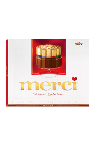 Saldainiai RINKINYS MERCI RED, 250 g