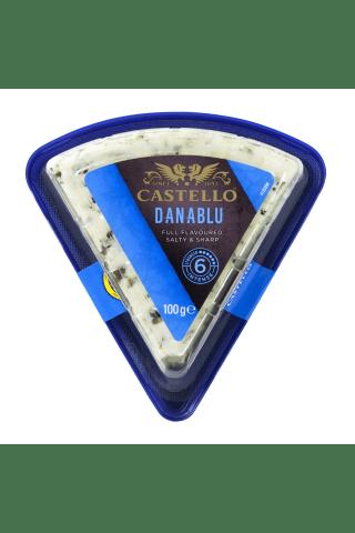 Sūris su mėlynuoju pelėsiu CASTELLO DANISH, 100g