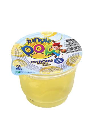 Želė desertas JUNGLE POP Citrina, 115 g