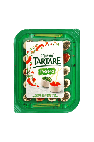 Varškės sūrio užkandis TARTARE APERIFRAIS, 100 g