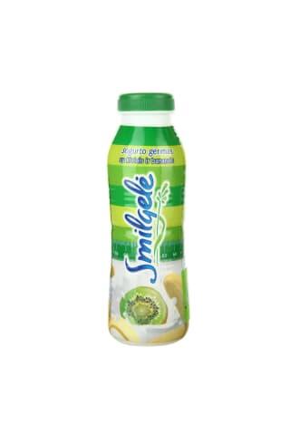 Jogurto gėrimas su kiviais ir bananais SMILGELĖ, 1% rieb., 0,45 l
