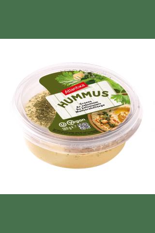 Humusas su žolelėm ir alyvuogių aliejumi, 180 g