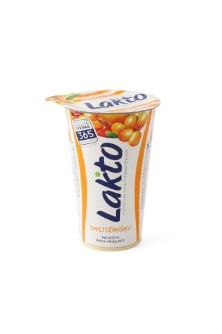 Raudzēts piena prodokuts Lakto smiltsērkšķu 220g