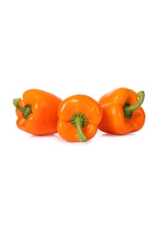 Paprika oranža 80-100mm 2.šķira kg