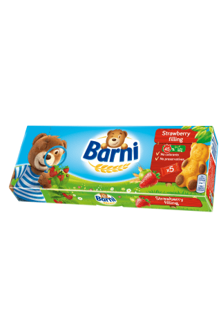 BISCUITS BARNI STRAWBERRY 150G