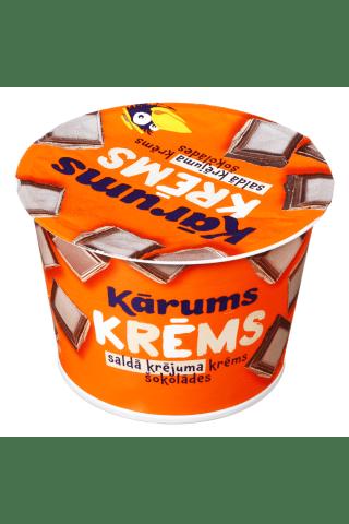 Šokolado skonio grietinėlės kremas KĀRUMS, 150 g