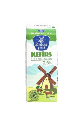 Kefīrs 2.5% Limbažu 1.5l
