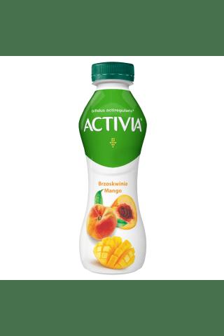 Dzeramais jogurts Activia ar mango, persikiem un actiregularis ® 300g