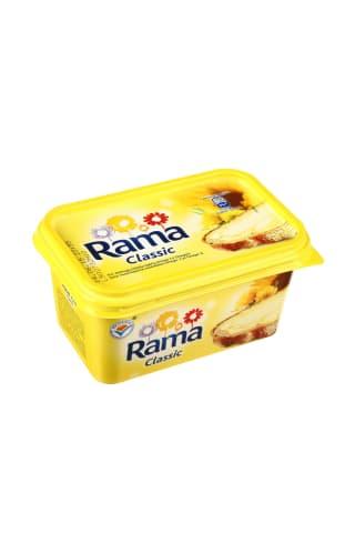 Sumažinto riebumo margarinas RAMA CLASSIC,60% riebumo, 400g