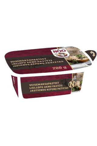 Jautienos kepenėlių paštetas Mėsos karalius, I r., 200 g