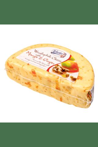 Sūris su mangu ir imbieru WENSLEYDALE, 1 kg