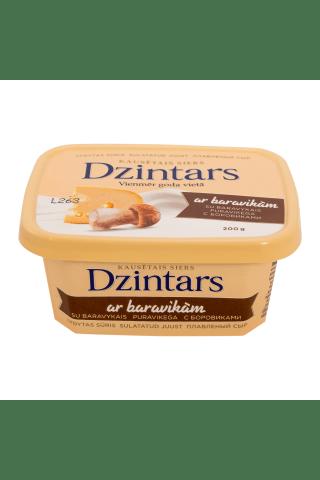 Kausētais siers Dzintars ar baravikām 200g