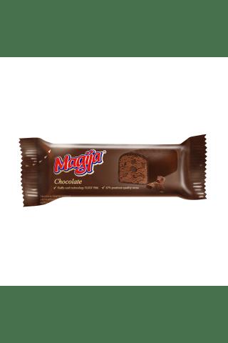 Glaistytas varškės sūrelis su kakava ir šokolado skonio gabaliukais MAGIJA, 45 g
