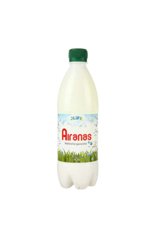 Rytietiškas rauginto pieno gėrimas Airanas 2 LIFE, 1 % rieb., 0,5 l