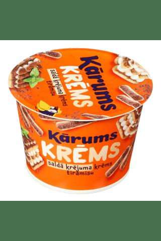 Desertinis grietinėlės kremas TIRAMISU, 150 g