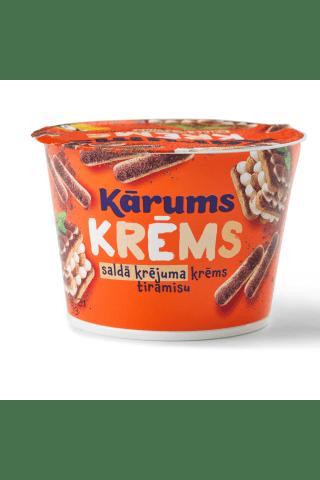Saldā krējuma Krēms Kārums ar tiramisu garšu 150g