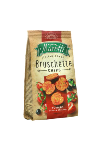 Traškučiai su pomidorais ir alyvuogėmis MARETTI, 70 g