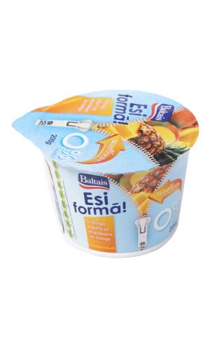 Jogurts Esi formā ananāsu un mango 0,2% 200g