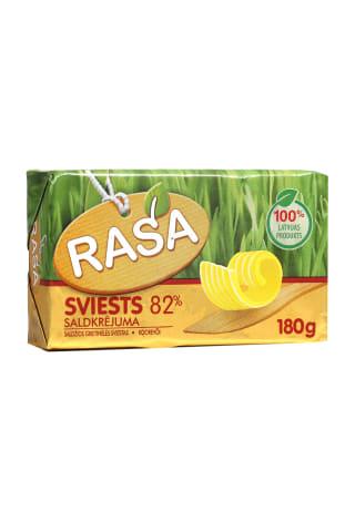 Sviests Rasa saldkrējuma 82% 180g