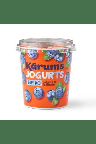 Bifido jogurts kārums ar mellenēm 350g