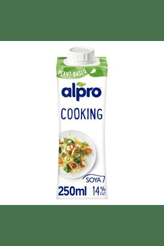 Sojos kreminis gaminys ALPRO, 15% riebumo, 250ml