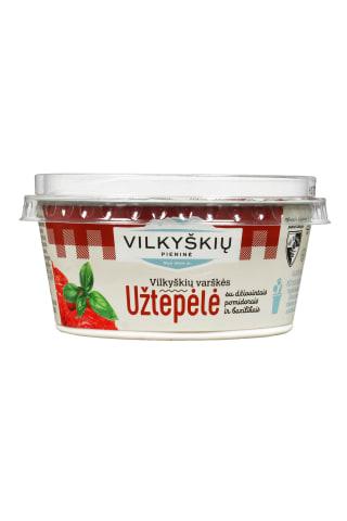 Varškės užtepėlė su džiovintais pomidorais VILKYŠKIŲ, 18% rieb., 150 g