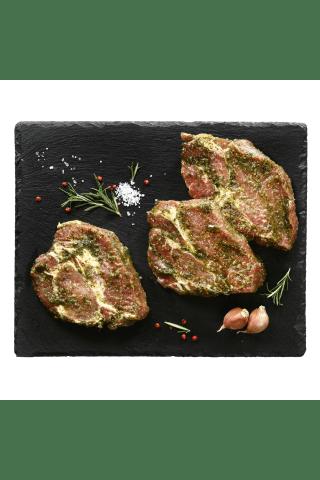 Kiaulienos sprandinė laukinių česnakų marinate, 1 kg