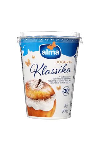 Jogurtas su keptais obuoliais ALMA 2% rieb., 380 g