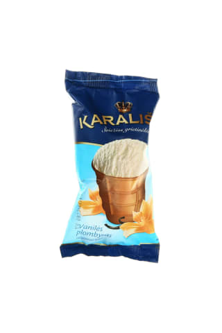 Vanilinis plombyras KARALIŠKI, 130 ml