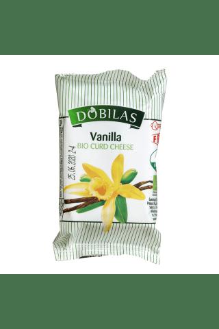 Ekologiškas varškės sūrelis su vanile DOBILAS, 7,5% rieb., 80 g