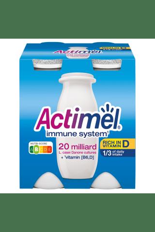 Jogurta dzēriens Actimel naturālais 4x100g