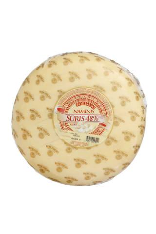 Sūris ROKIŠKIO NAMINIS, 48%, 1 kg