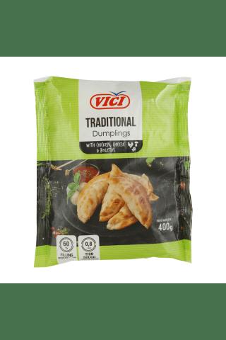 Koldūnai su vištiena, sūriu ir baravykais TRADITIONAL, 400 g