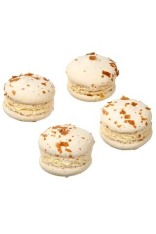 Abrikosų skonio migdoliniai pyragaičiai MACARONS, 1 kg