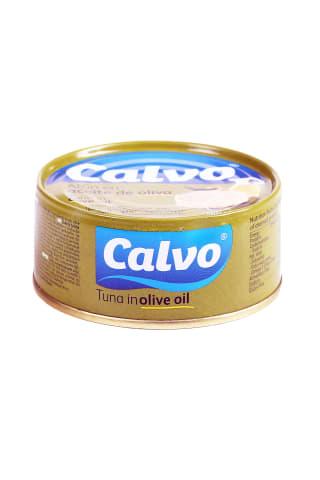 Tuncis olīveļļā calvo 160g/104g