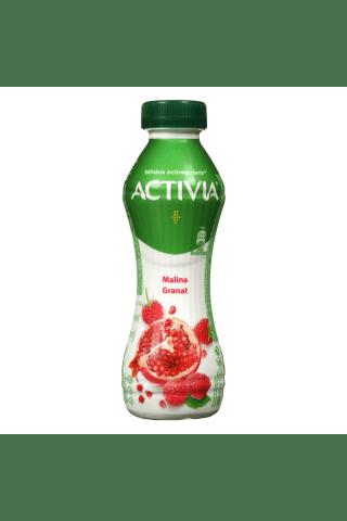 Geriamasis jogurtas su avietėmis ir granatais ACTIVIA, 300 g