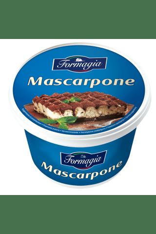 Labai riebus šviežias minkštas maskarponės sūris FORMAGIA, 40% rieb., 500 g