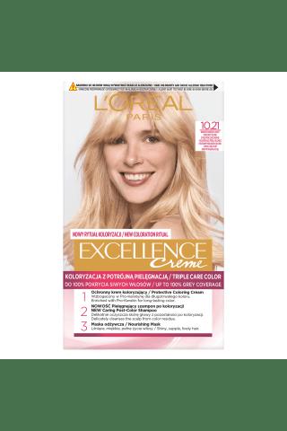 Plaukų dažai L'OREAL EXCELLENCE, Nr. 10.21