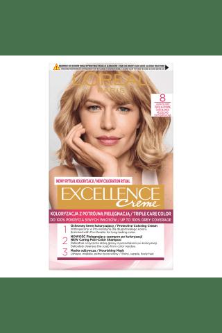 Plaukų dažai L'OREAL EXCELLENCE, Nr. 8