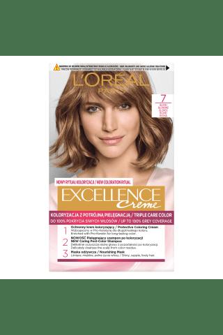 Plaukų dažai L'OREAL EXCELLENCE, Nr. 7