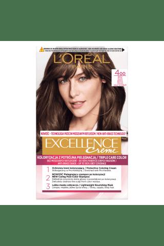 Plaukų dažai L'OREAL EXCELLENCE, Nr. 4