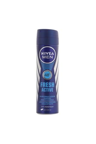 Izsmidzināms dezodorants Nivea fresh active vīriešiem 150ml