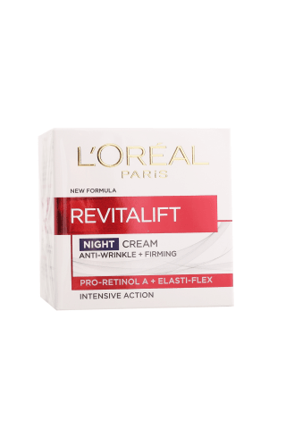 Naktinis veido kremas L`OREAL REVITALIFT, 50 ml