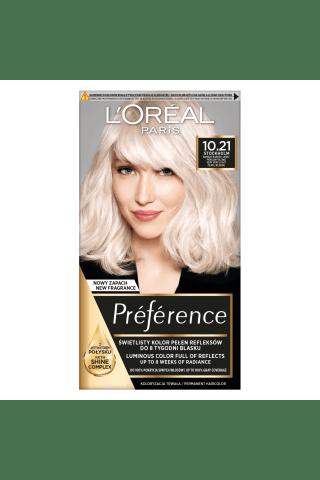 Plaukų dažai L'oreal Preference Recital Nr.10.21