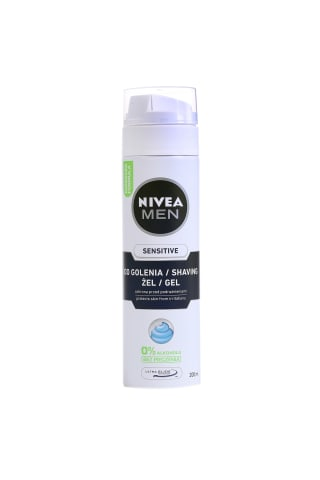 Skutimosi želė NIVEA MEN SENSITIVE, 200 ml
