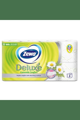 Tualetes papīrs Zewa Deluxe kumelīšu 3slāņi, 8ruļļi