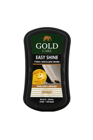Kempinėlė (juoda) GOLD CARE EASY SHINE, 1 vnt